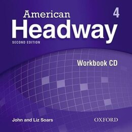Book American Headway Second Edition: Level 4 Workbook Audio CD by Liz Soars