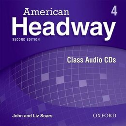 Book American Headway Second Edition: Level 4 Class Audio CDs (3) by Liz Soars