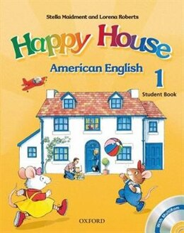 Book American Happy House: Level 1 Student Book with MultiROM by Stella Maidment