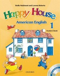 American Happy House: Level 1 Student Book with MultiROM