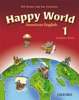 Book American Happy World: Level 1 Student Book with MultiROM by Stella Maidment