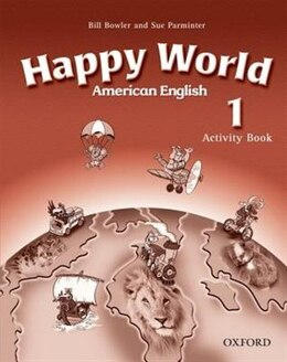 Book American Happy World: Level 1 Activity Book by Stella Maidment