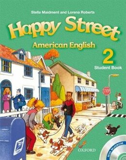 Book American Happy Street: Level 2 Student Book with MultiROM by Stella Maidment