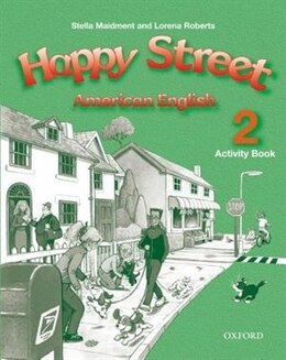 Book American Happy Street: Level 2 Activity Book by Stella Maidment