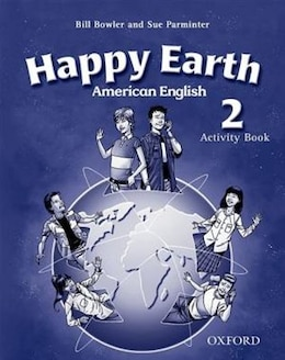 Book American Happy Earth: Level 2 Activity Book by Stella Maidment