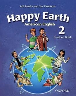 Book American Happy Earth: Level 2 Student Book with MultiROM by Stella Maidment