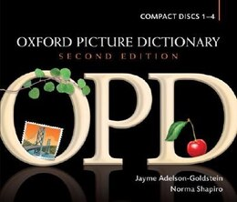 Book Oxford Picture Dictionary, Second Edition: Dictionary Audio CDs (4) by Jayme Adelson-Goldstein