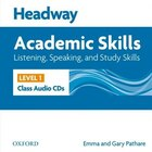 Headway Academic Skills: Level 1 Listening, Speaking, and Study Skills Class Audio CDs (2)