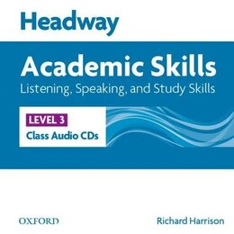 Book Headway Academic Skills: 3 Listening, Speaking, and Study Skills Class Audio CDs (3) by Sarah Philpot