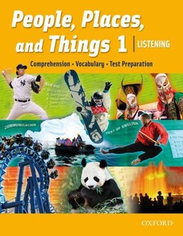Book People, Places, and Things Listening: Level 1 Student Book by Oxford