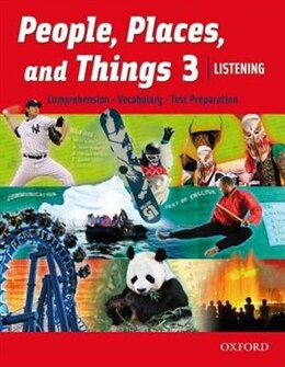 Book People, Places, and Things Listening: Level 3 Student Book by Oxford