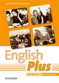 Book English Plus: Level 4 Workbook with Online Practice by Janet Hardy-Gould