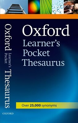 Book Oxford Learners Pocket Thesaurus First Edition by Oxford