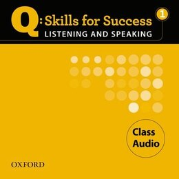 Book Q Skills for Success: Listening and Speaking 1 Class CD by Oxford