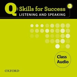 Book Q Skills for Success: Listening and Speaking 3 Class Audio CD by Susan Iannuzzi