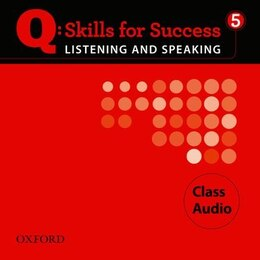 Book Q Skills for Success: Listening and Speaking 5 Class Audio CD by Oxford