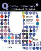 Q Skills For Success: Listening And Speaking 4 Student Book With Online Practice