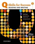 Q Skills for Success: Reading and Writing 1 Student Book Pack