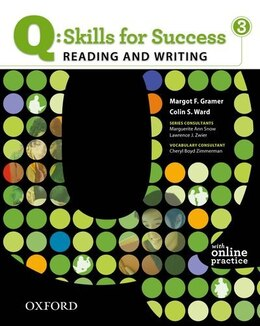 Book Q Skills for Success: Reading and Writing 3 Student Book Pack by Margot F. Gramer