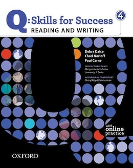 Book Q Skills for Success: Reading and Writing 4 Student Book Pack by Debra Daise