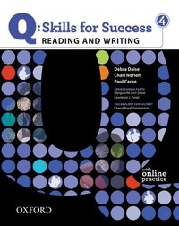Q Skills for Success: Reading and Writing 4 Student Book Pack