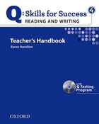 Q Skills for Success: Reading and Writing 4 Teachers Book