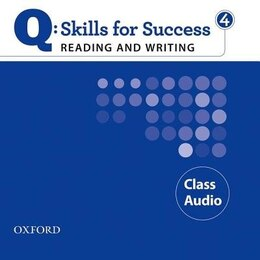 Book Q Skills for Success: Reading and Writing 4 Class CD by Oxford