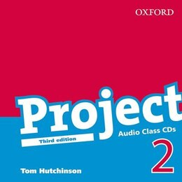 Book Project, Third Edition: Level 2 Class Audio CDs (2) by Hutchinson