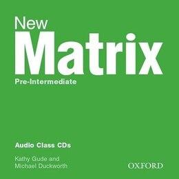 Book New Matrix: Pre-Intermediate Audio Class CDs (2) by Kathy Gude