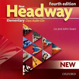 Book New Headway Fourth Edition: Elementary Class CD (3 Discs) by Liz Soars