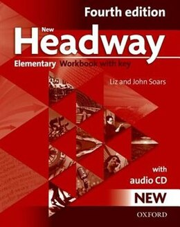 Book New Headway Fourth Edition: Elementary Workbook with Key and Audio CD Pack by John Soars