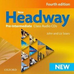 Book New Headway Fourth Edition: Pre Intermediate Class CD (3 Discs) by John Soars