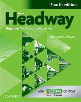 Book New Headway: Beginner Workbook without key and iChecker by John Soars