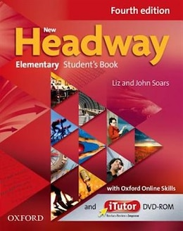 Book New Headway: Elementary Students Book and Itutor and Online Skills Practice Pack by Liz Soars