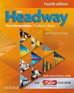 Book New Headway: Pre-Intermediate Students Book and Itutor and Online Skills Practice Pack by John Soars