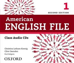 Book American English File: Level 1 Class Audio CDs by Christina Latham-Koenig