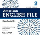 American English File: Level 2 Class CD (4 Discs)