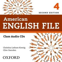 Book American English File: Level 4 Class CD by Christina Latham-Koenig