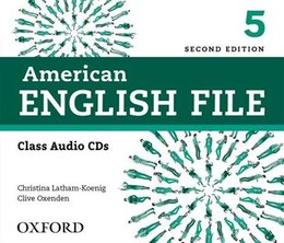 Book American English File: Level 5 Class CD (4 Discs) by Christina Latham-Koenig