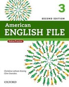 American English File: Level 3 Student Book Pack