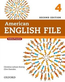 Book American English File: Level 4 Student Book with Online Practice by Christina Latham-Koenig