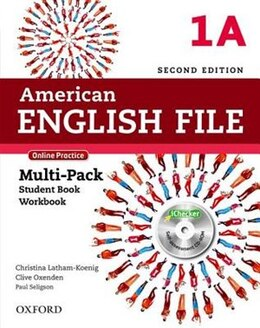 Book American English File: Level 1 Multipack A with Online Practice and iChecker by Christina Latham-Koenig