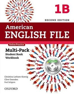 Book American English File: Level 1 Multipack B with Online Practice and iChecker by Christina Latham-Koenig