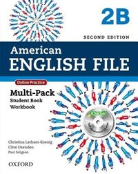 American English File: Level 2 Multipack B with Online Practice and iChecker