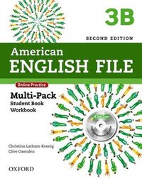 American English File: Level 3b Mutli Pack