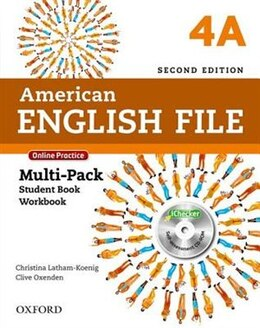Book American English File: Level 4 Multi-Pack A with Online Practice and iChecker by Christina Latham-Koenig
