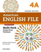 American English File: Level 4 Multi-Pack A with Online Practice and iChecker