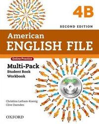 American English File: Level 4 Multi-Pack B with Online Practice and iChecker