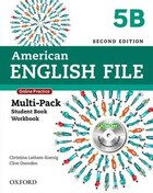 American English File: Level 5 Multi-Pack B with Online Practice and iChecker