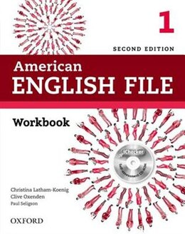 Book American English File: Level 1 Workbook with iChecker by Christina Latham-Koenig